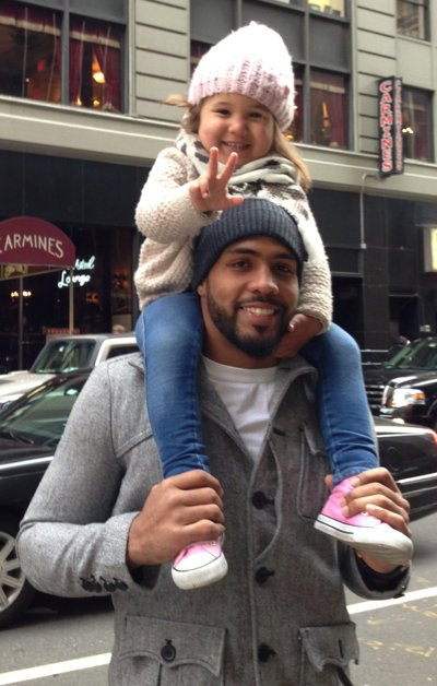 Arian Foster on Teaching His Daughter