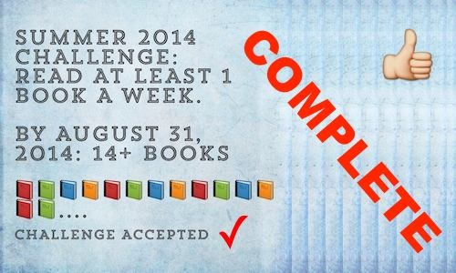 summer challenge completed