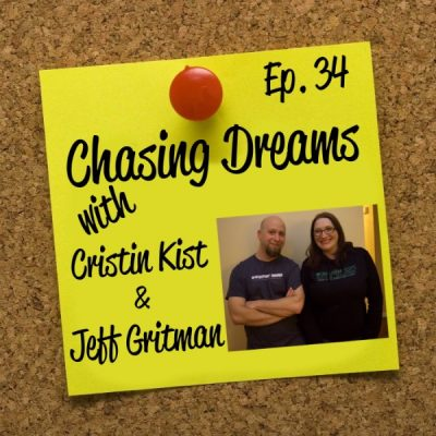 Ep. 34: Cristin Kist & Jeff Gritman – Writing Your Way into Self-Publication
