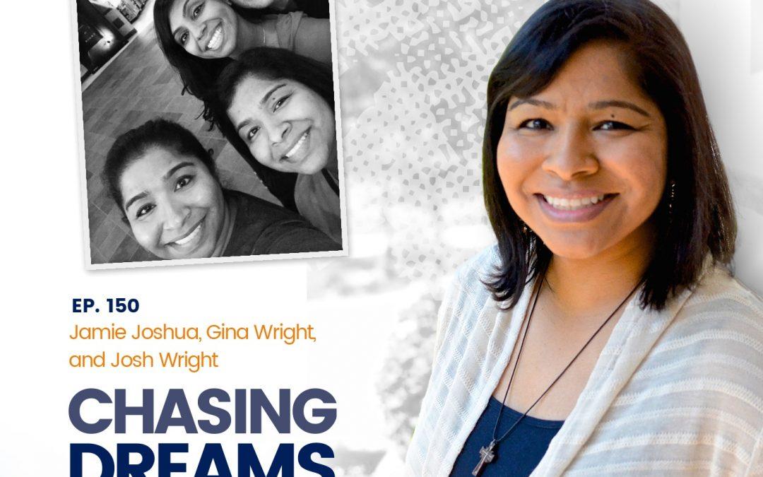 Ep. 150: Jamie Joshua, Gina Wright & Josh Wright – A Chat w/Aimee J.'s Family