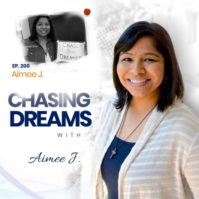 Ep. 200:  Aimee J. – A Look Back at the Road to 200
