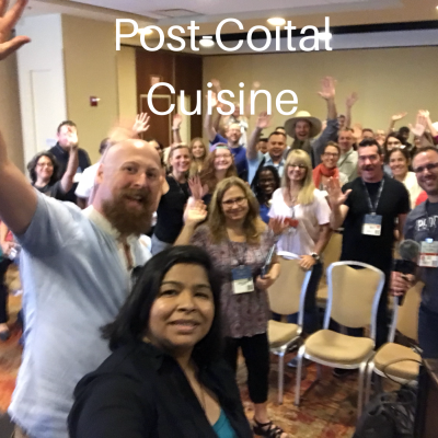Ep. 151: Podcast Movement 2018 Group – Post-Coital Cuisine [PM18 episode]