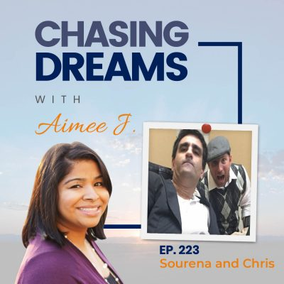 Ep. 223: Sourena and Chris – The Speaker Who Can't Speak and The Writer Who Can't Write