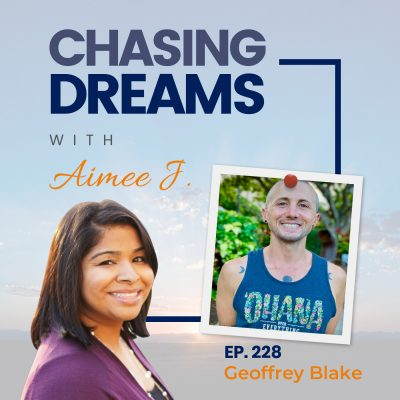 Ep. 228 – Geoffrey Blake aka GB – On How a Daily Gratitude Practice Can Change Your Life!